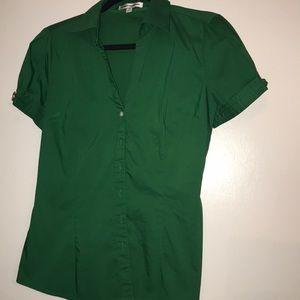 Express button up shirt